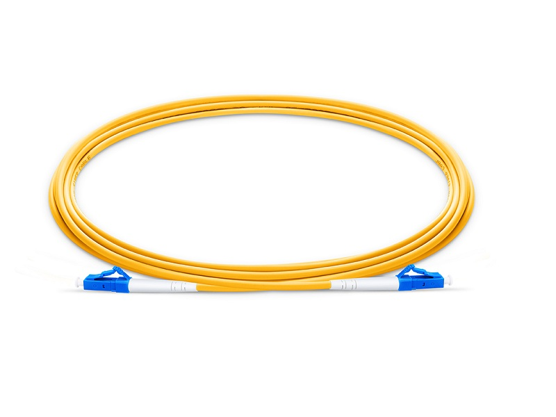 Singlemode Simplex 2.0mm LC/UPC to LC/UPC Fiber Optic patch cord