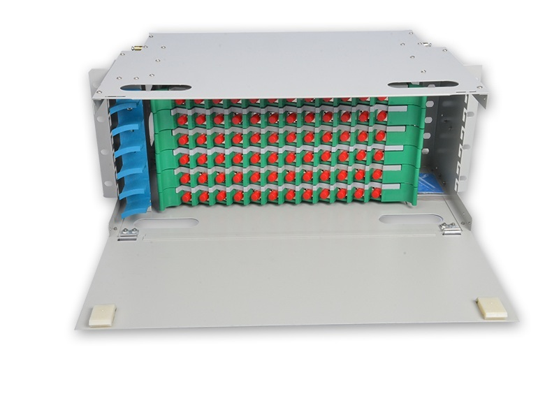 Singlemode FC/UPC 72 core  ODF, with splice tray and connrctor