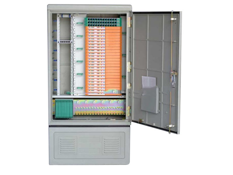 Outdoor FTTH 288 core OCC,  optical cross connect Cabinet