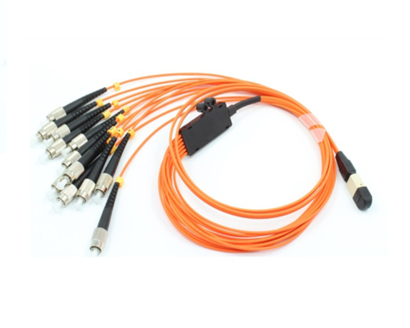 Multimode OM2 12 core MPO/MTP to FC/UPC fan branch trunk cable patch cord